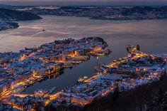 Bergen, Norway   por Paulius Bruzdeilynas