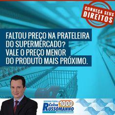 FALTA DE PREÇO NO PRODUTO | Celso Russomanno veja mais em http://advogadonoriodejaneiro.com