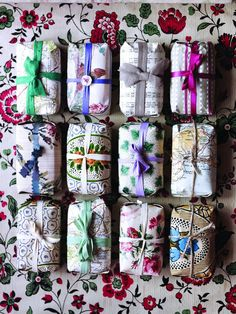Soaps  Lovely wraping!