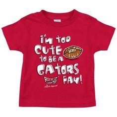 Georgia Bulldogs Fans. Too Cute (Anti-Florida). Toddler Tee (2T-4T)