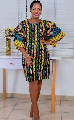 Best African Dresses, African Traditional Dresses, Latest African Fashion Dresses, African Print Dresses, African Print Fashion, Africa Fashion, African Attire, African Wear, Simple Dress Styles