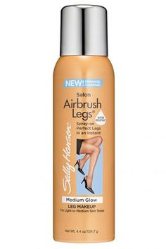 """""""Pick a shade close to your own skin to cover imperfections, or a darker shade to add a tan, bronze-y look to the body,"""" Breuchaud says about this easy-to-apply body makeup. (Just spray on and blend quickly with your hands or a tanning mitt.) """"They really nailed the colors and the formula; it will stay in place without rubbing off."""""""