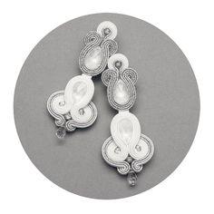 Déclaration de boucles d'oreilles cristal mariage. par MANJApl
