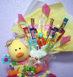 Naughty secretary club i love to create baby easter basket easter baby chick gift baskets negle Image collections