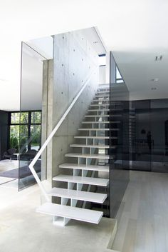 *stairs, modern interiors, minimalism* - Belvedere house by Guido Costantino Design Office