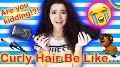 Curly Hair Be Like... | Vivian King