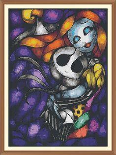 abstract nightmare before christmas Cross Stitch Chart by Shawboyz, £4.99