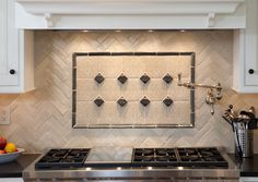 Handmade Backsplash Tile - Made in the USA - contact Great Britain Tile at (877) 895-9775 for more information.