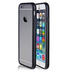 """iPhone 6 Case - Bear Motion For iPhone 6 4.7"""" - Premium Bumper Ring for iPhone 6 with 4.7 inch Screen (Smooth Black)"""