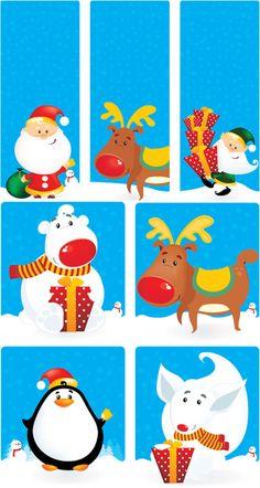 Christmas illustrations vector 2
