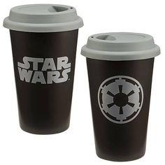 Star Wars Imperial Symbol Ceramic Travel Mug