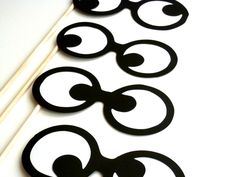 Fun Photobooth props Googly Eyes on a stick Set of 4 Wedding, Birthday, Little Man mustache bash. $15.00, via Etsy.