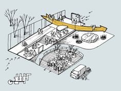 Clock, Egmont Gymnasium / CEBRA - You are in the right place about Exercise Plan belly Here we offer you the most beautiful pictures about the wedding Exercise Plan y Architecture Concept Drawings, Landscape Architecture Design, Architecture Graphics, Parque Linear, Urban Design Diagram, Public Space Design, Architecture Presentation Board, Playground Design, School Design