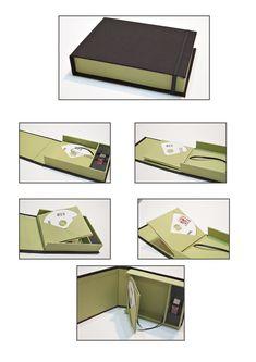Caja estuche porta pen+2dvd