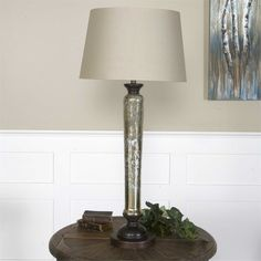 Uttermost Cassini Mercury Glass Buffet Lamp Suggested Retail Price: $351.00 In stock