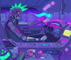 Cyberpunk 2077, Cyberpunk City, Arte Cyberpunk, Cyberpunk Anime, Arte Sci Fi, Sci Fi Art, Neon Noir, Neon Led, New Retro Wave