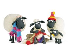 haakclub - Google Zoeken Simply Knitting, Shaun The Sheep, Counting Sheep, Chicken Runs, Creature Comforts, Knitted Bags, Wool Yarn, Doll Toys, Dolls