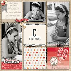 Project Grids 7 by Amy Martin and Sugar Cookie by Just Jaimee - available at the Lilypad