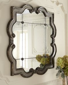 """""""Prisca"""" Mirrors at Horchow."""