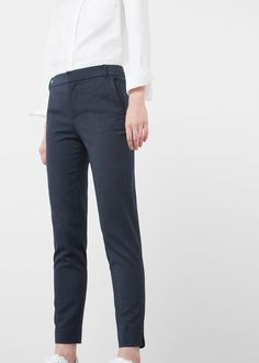 Pantalon droit costume | MANGO