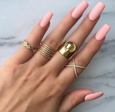 I hate square nails but these are acceptable.