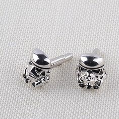 #Silver #darth vader mask #helmet dark lord sith star wars men's cufflinks,  View more on the LINK: http://www.zeppy.io/product/gb/2/272277588106/