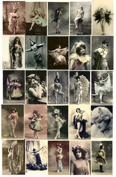Vintage Animal, Cat, Butterflies and Bird Costume Images Download from E-vint.com Everything Vintage