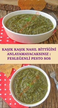 One of the most beautiful sauces of the Italians. But it's more suited to our ta. - Pratik Hızlı ve Kolay Yemek Tarifleri Healthy Sauces, Stir Fry Sauce, Homemade Beauty Products, Mac And Cheese, Palak Paneer, Pasta Recipes, Pesto, Dishes, Breakfast