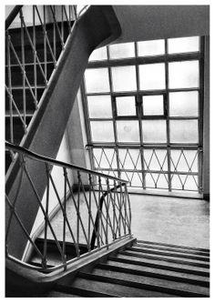 cage d'escalier 60's