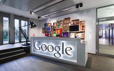Empfang Google Office Lepel Architektur