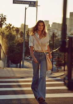 Daria werbowy by mikael jansson style inspo in 2019 мода 70s Inspired Fashion, 70s Fashion, Look Fashion, Vintage Fashion, Womens Fashion, Fashion Trends, Petite Fashion, Editorial Fashion, 70s Outfits