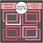 8 high quality graphics for personal and commercial use!  - png versions ONLY -NO blackline included  Here are some festive Valentine's Day frames ...