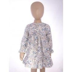 Vestido estampado en tonos tostados - http://elarmariodecloe.com/ropa-de-nina/vestidos/melamelon-vestido-estampado-en-tonos-tostados.html