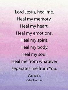 Heal me..