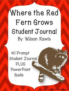where the red fern grows essay test This 155-page common core aligned literature guide for where the red fern grows includes student coursework, activities, quizzes, tests, and more aligned with the common core state standards for ela, the ncte/ira national ela content standards in english, the texas teks, and most importantly, time-tested best practices for teaching.