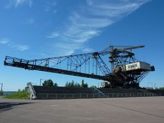 Allemagne (ex-RDA) - Ferropolis... Excavatrices de lignite... KOLOSSAL !!!