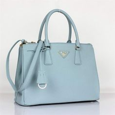 152d4a318 Buy BN1801 Hot Sell Prada Classic Saffiano Leather Medium Tote Bag BN1801  Light Blue Sale Replica Tote bags