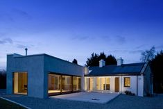 Renovated cottage in Ireland, with modern addition. Thank you for the kind words. For the architect, please contact Mr. Gary Mongey at Box Architecture in Dublin,. Architecture Ireland, Box Architecture, Irish Cottage, Old Cottage, Cottage Ideas, Bungalow Extensions, House Extensions, Cottage Design, House Design