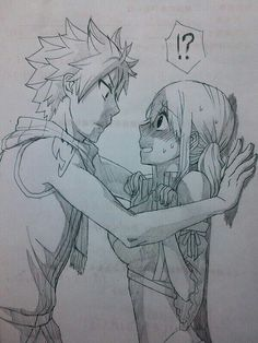 Natsu: Luce look me in the eye and tell me your not lying  Lucy: Natsu... Your waay to close