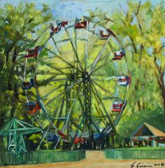 Simone Simonian - Ferris Wheel at Liberty park.