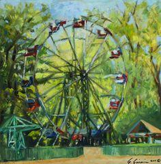 Simone Simonian - Ferris Wheel at Liberty park.