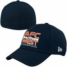 d0387c5bae9 New Era Denver Broncos 2013 AFC West Division Champions 39THIRTY Flex Hat  Denver Broncos Merchandise