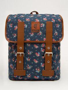 "Stylish Flower Shabby Laptop MacBook Bag 14"" School Backpack Travel Rucksack   eBay"