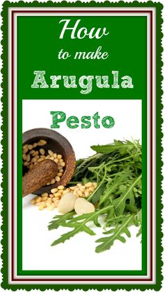 Don't reach for that #mayonnaise. Use this #arugula #pesto instead.