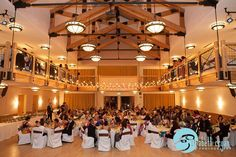 Silverthorne Pavilion for weddings with up to 200 people! Photography by Elizabeth Cryan