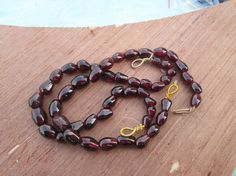 """Full strand  8"""" inches , Red  Garnet gemstone  briolettes  beads(D2766), 100% Natural by JaiVyavsayBeads on Etsy"""