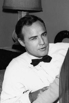 """Marlon Brando while filming """"The Chase"""" 1966"""