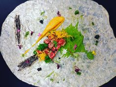 Kobe week is here!!!! From @mr.claudio.cardoso kobe tataki killer. #kobebeef #kobe #blackgarlic #kabocha #kaviar #brokoli #tataki #lovemyjob #london #thestaffcanteen #lovefood #bestjobieverhad #art #chefslife #foodporn #foodart @sushisamba by fufutoschef