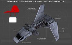 Sentinel-class loader shuttle tech readout [New] by unusualsuspex.deviantart.com on @DeviantArt