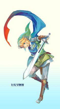 Scarf Link Hyrule Warriors